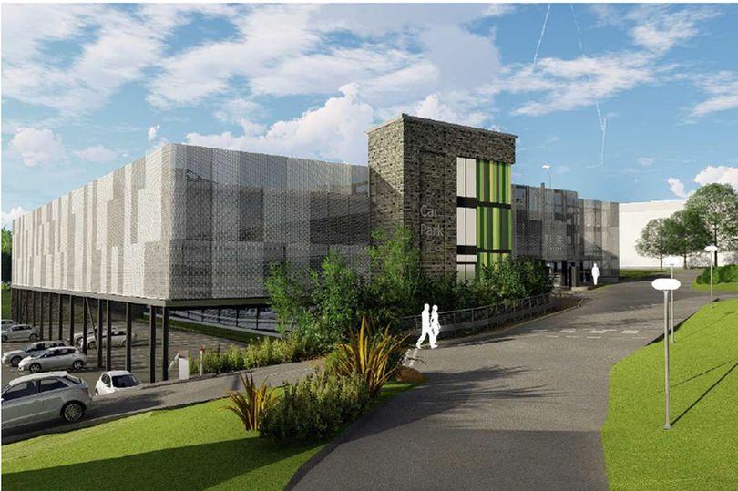 burton on trent new hospital car park