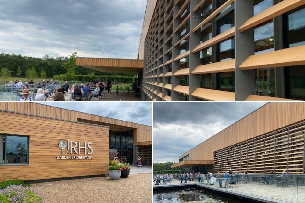 RHS Bridgewater welcome centre