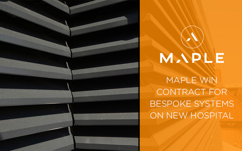 maple win project for heartlands hospital