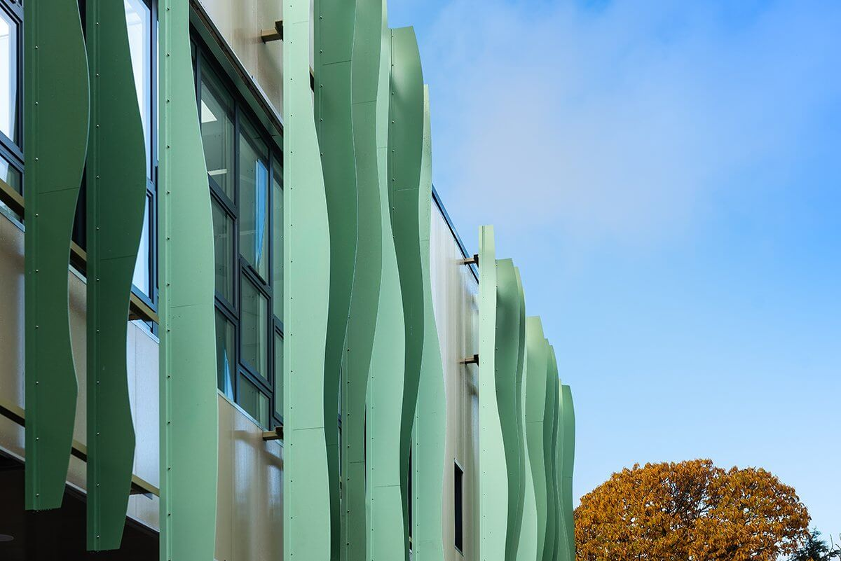 Climate façade project at Bursted Wood Primary School | Maple