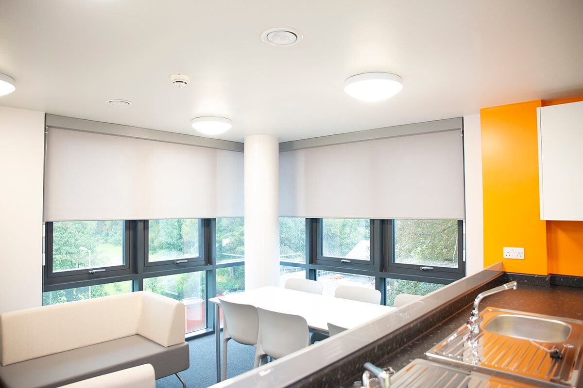 Student Accommodation Gets 'Indestructible' Roller Blinds | Maple