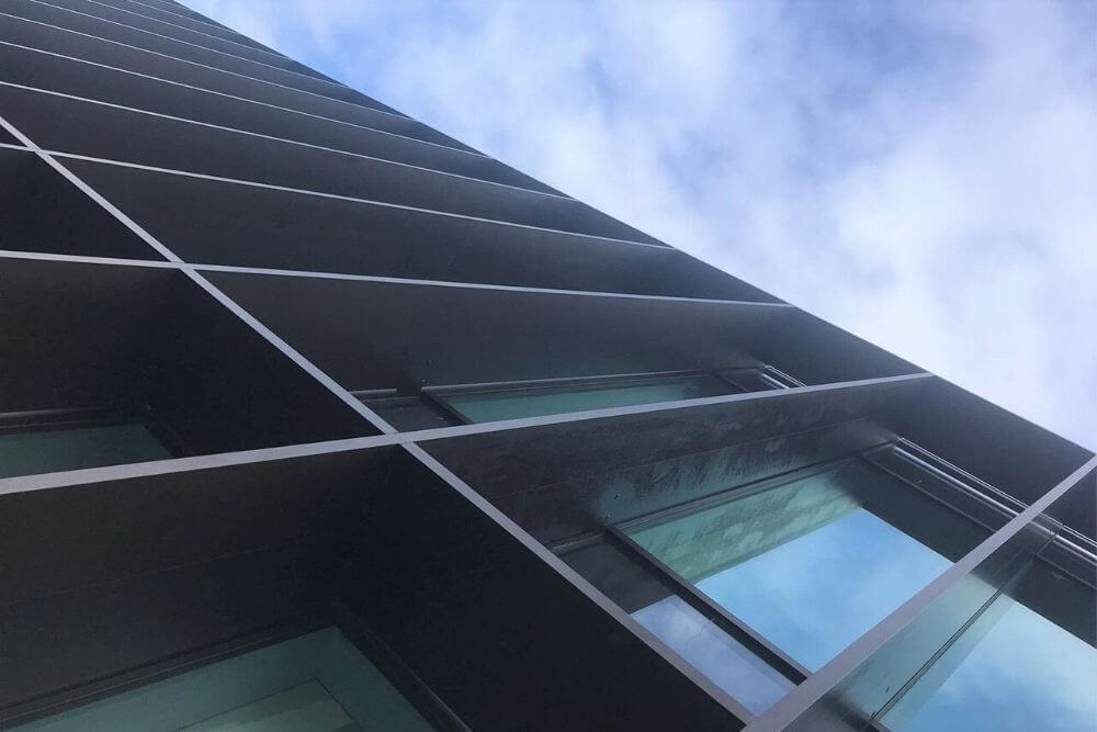 Challenging brise soleil project at windy site | Maple