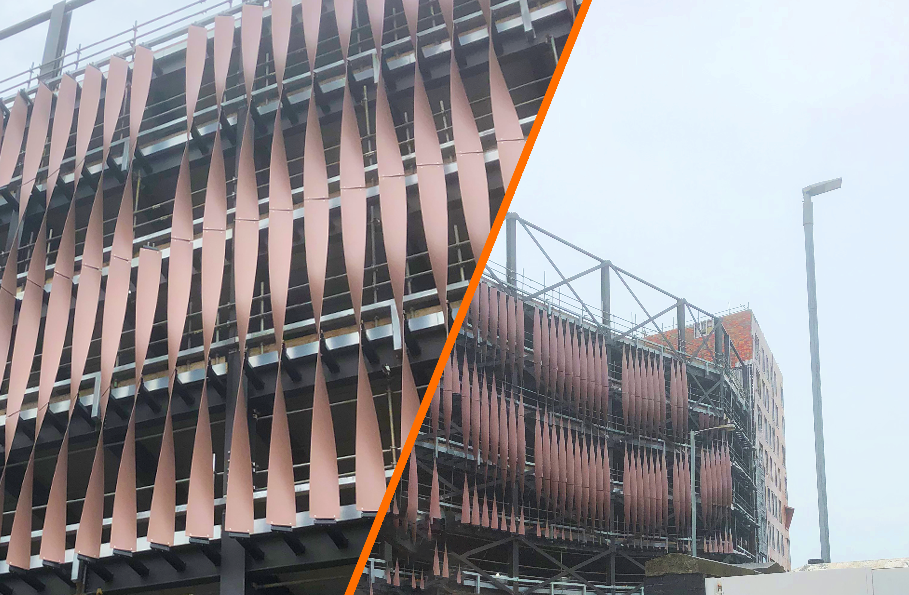 Maple making waves with precision-engineered façade for Welsh car park