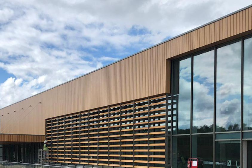 Maple to install solar shading at RHS Bridgewater welcome centre