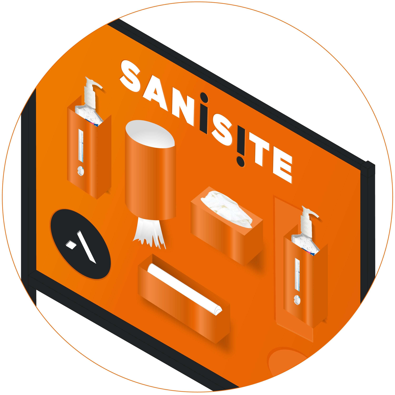 SaniSite closeup