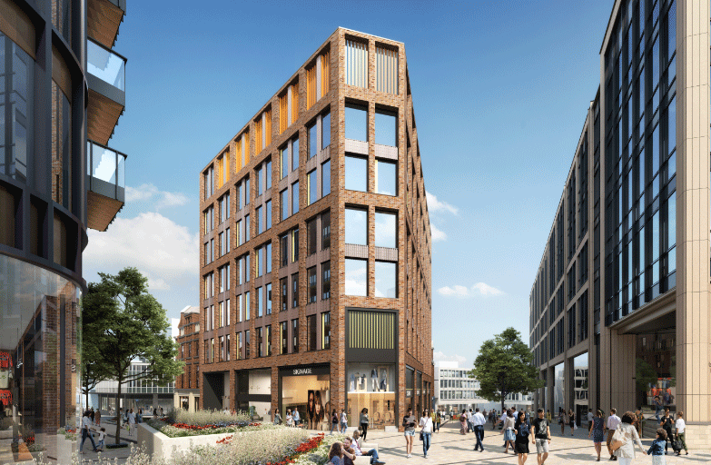 Maple to install Plant screening within Heart of Sheffield development