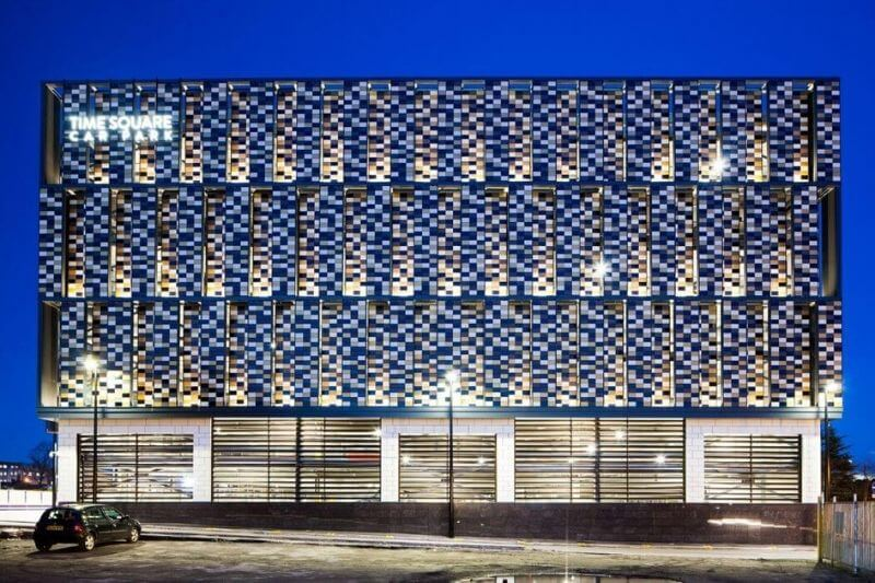 Maple's car park façade in Warrington is part of Design Excellence nomination