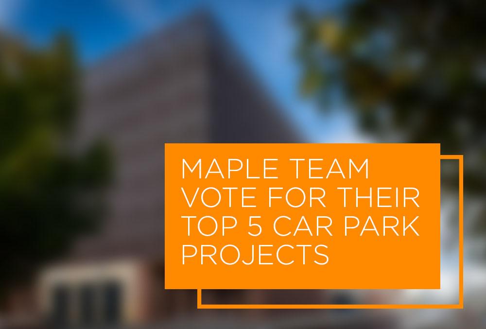 top 5 car parks maple team vote