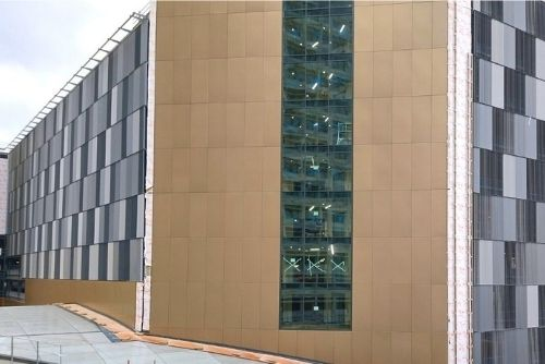 Maple supplying and installing architectural façade for new Victoria Square car park in Woking